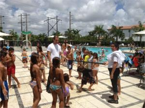 Pool Party at Monterra in Cooper City sponsored by Sandra Brener and Associates